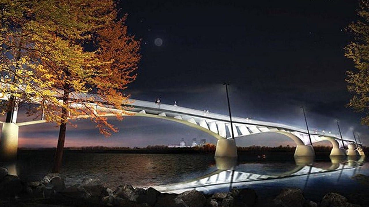'The Gateway' Design Selected As Tulsa's New Pedestrian Bridge