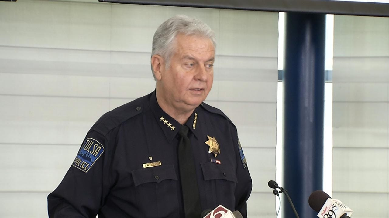 Tulsa Police Chief's Comments Have Some Asking For Apology