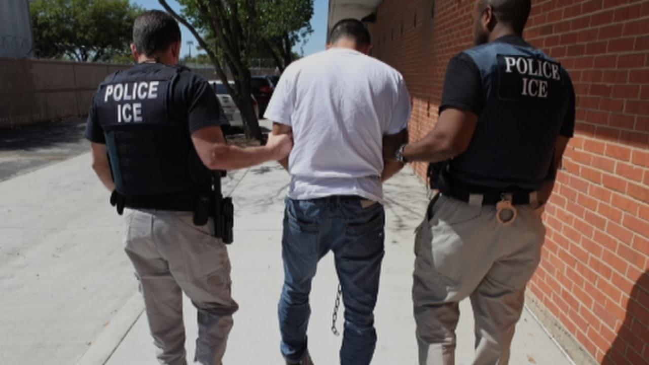 70 Arrested In ICE Sweep Across Oklahoma, Texas