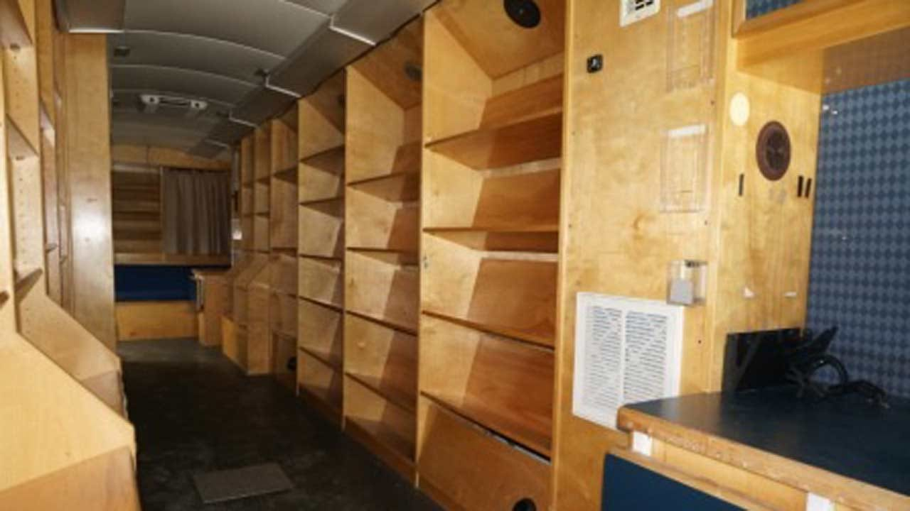 Bus, Bookmobile Up For Auction In Tulsa This Weekend