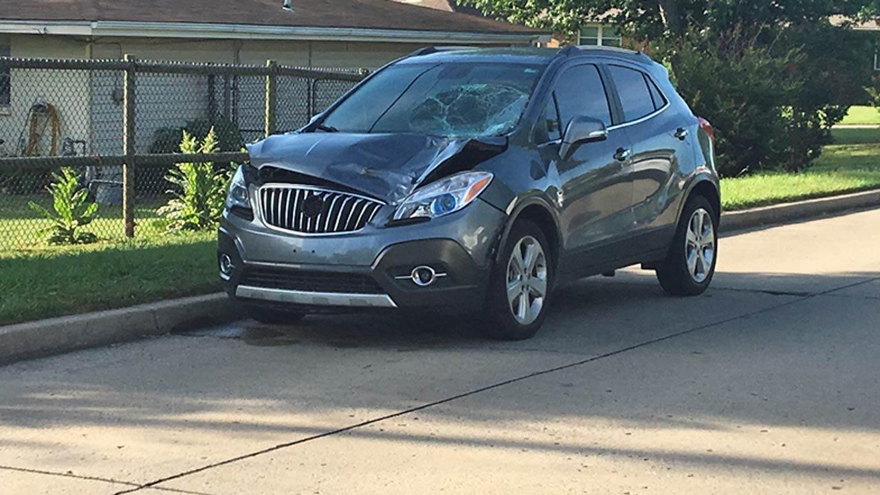 Tulsa Police Find SUV In Fatal Hit And Run; Identify Victim