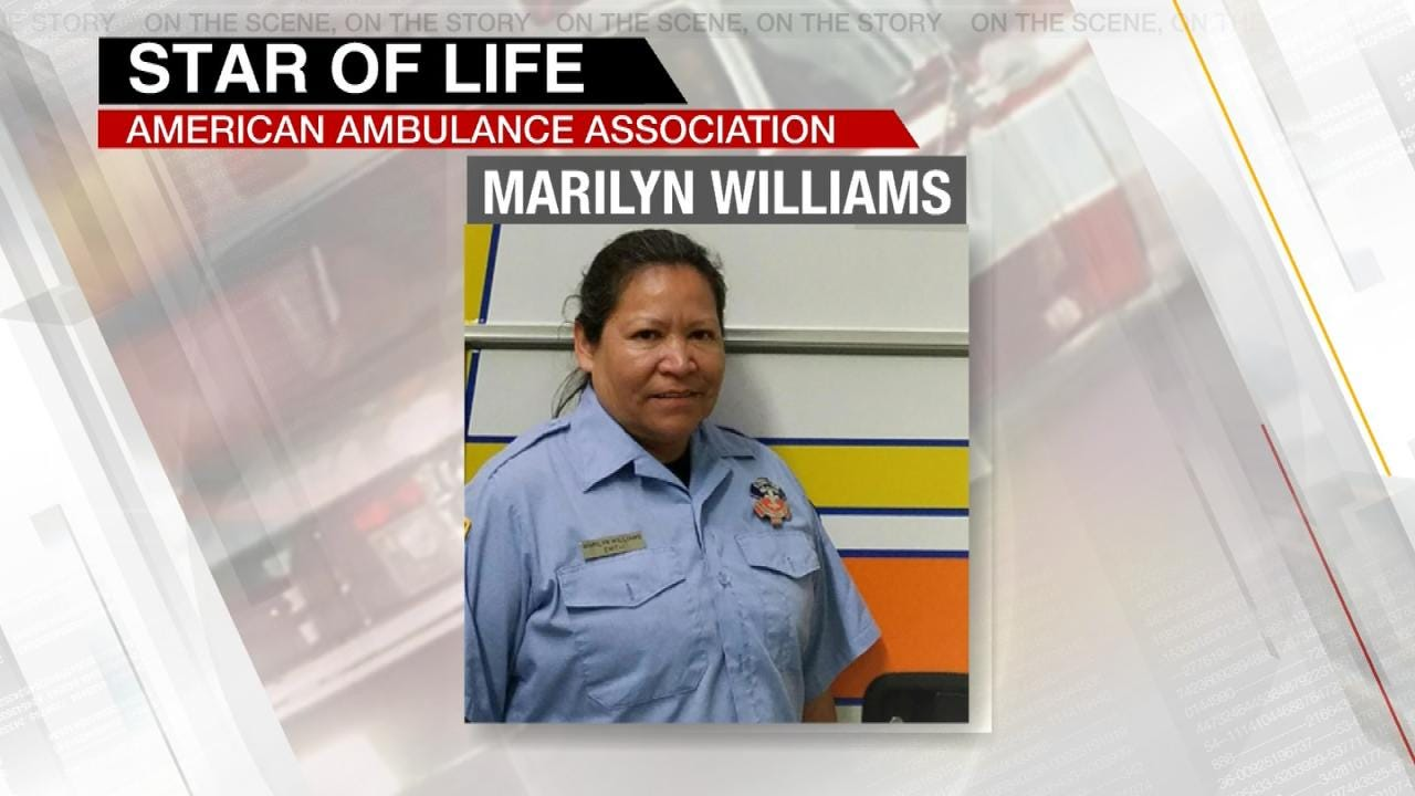Claremore EMT Named As 'Star Of Life' Honoree