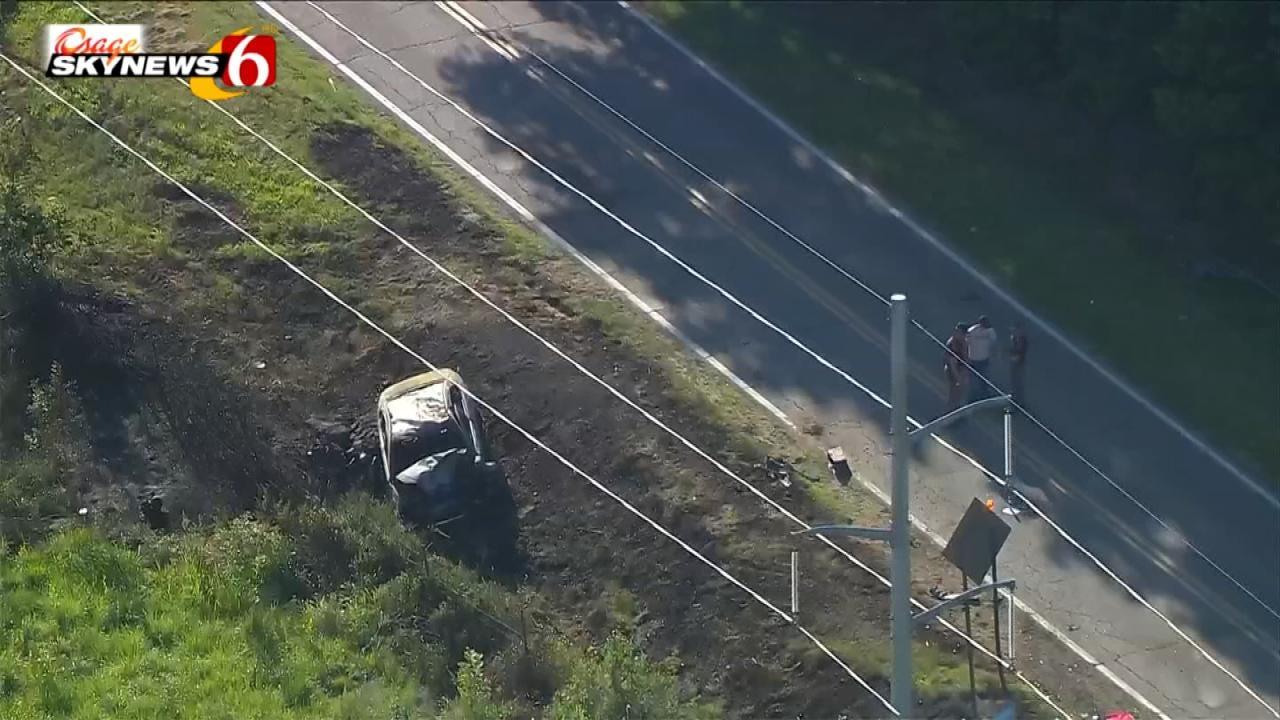OHP: Nowata Man Killed In Washington County Crash