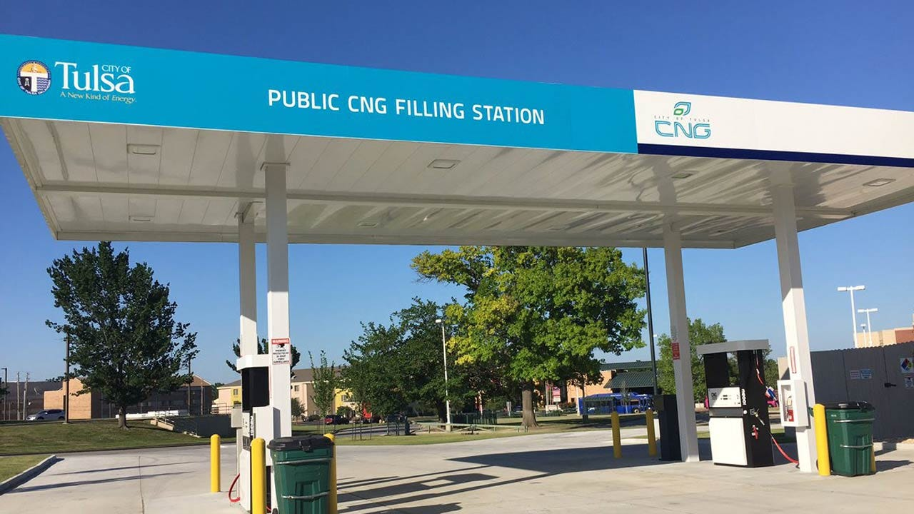 Second City Of Tulsa Public CNG Station Set To Open
