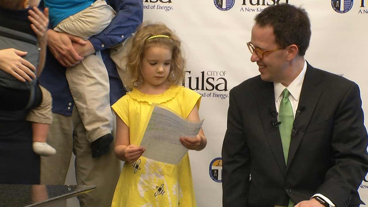 Tulsa Mayor Honors Youngest Ever Spelling Bee Competitor