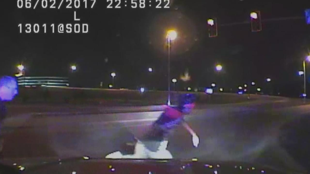 Tulsa Police Release Dashcam Video Of Fatal Officer-Involved Shooting