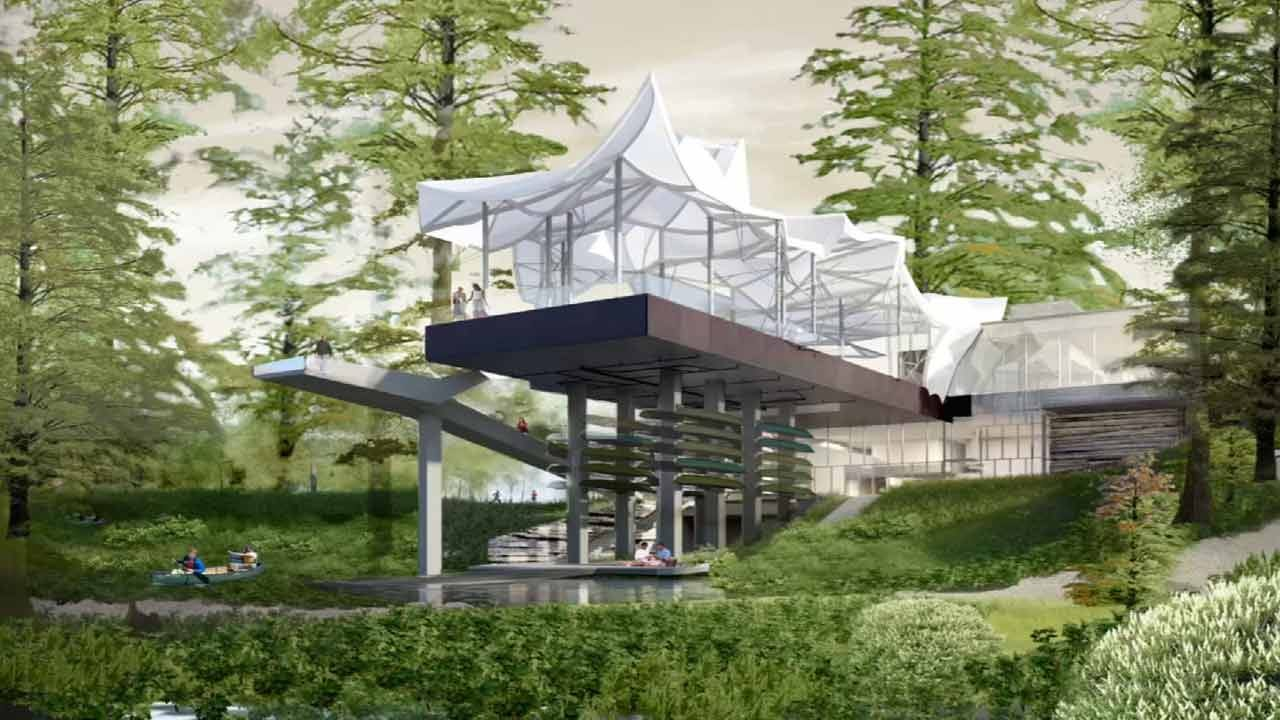 Boathouse Will Be Iconic Center Of Tulsa's Gathering Place