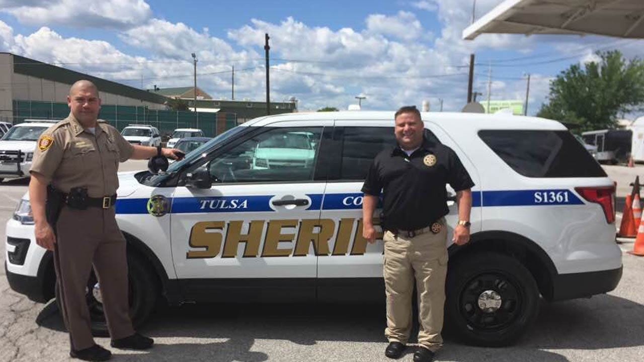 New Design For Tulsa County Sheriff's Patrol Vehicles
