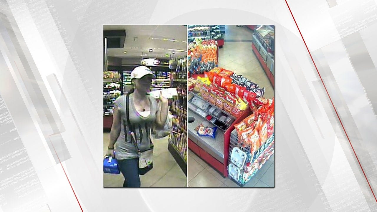 Tulsa Police Seek Help To Identify Person Of Interest In Stolen Checks Case