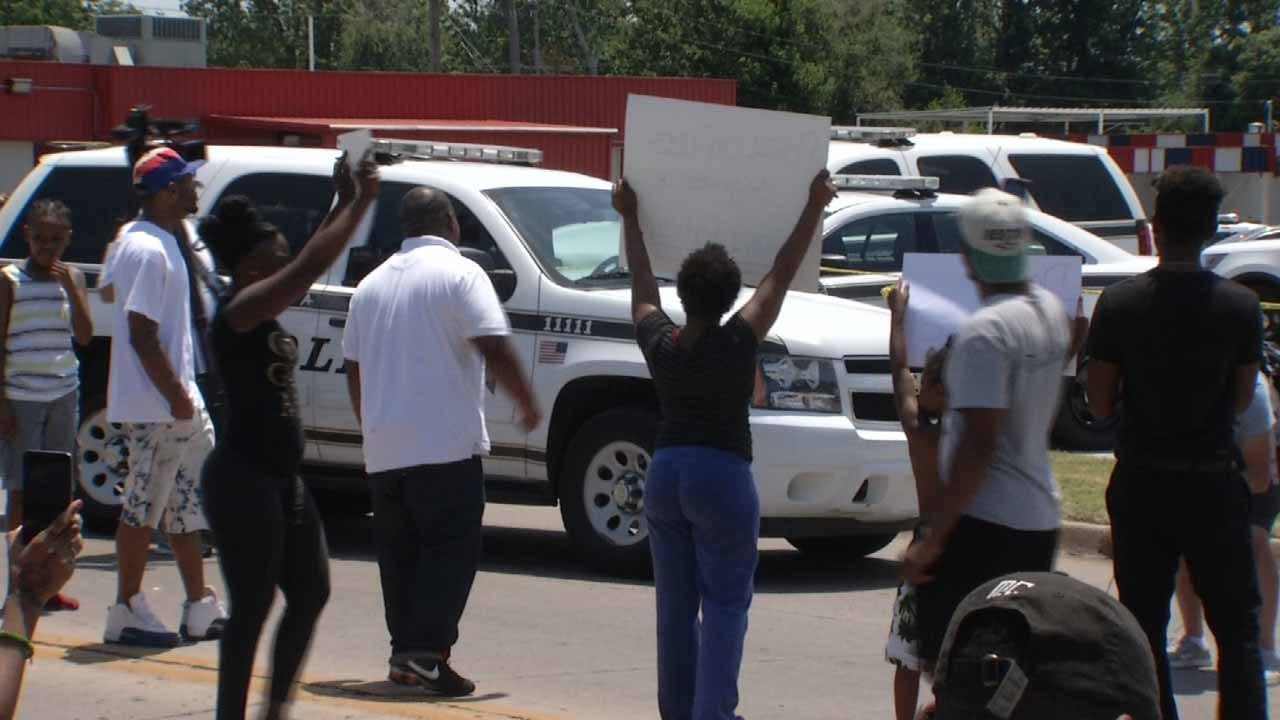 Community Leaders, TPD Officer Try To Ease Tension After Fatal Shooting