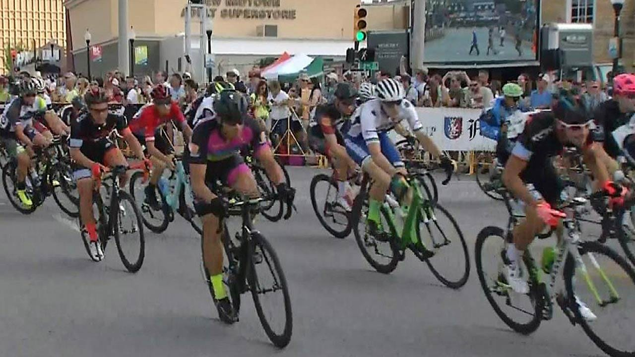 Cyclists Gear Up For Tulsa Tough