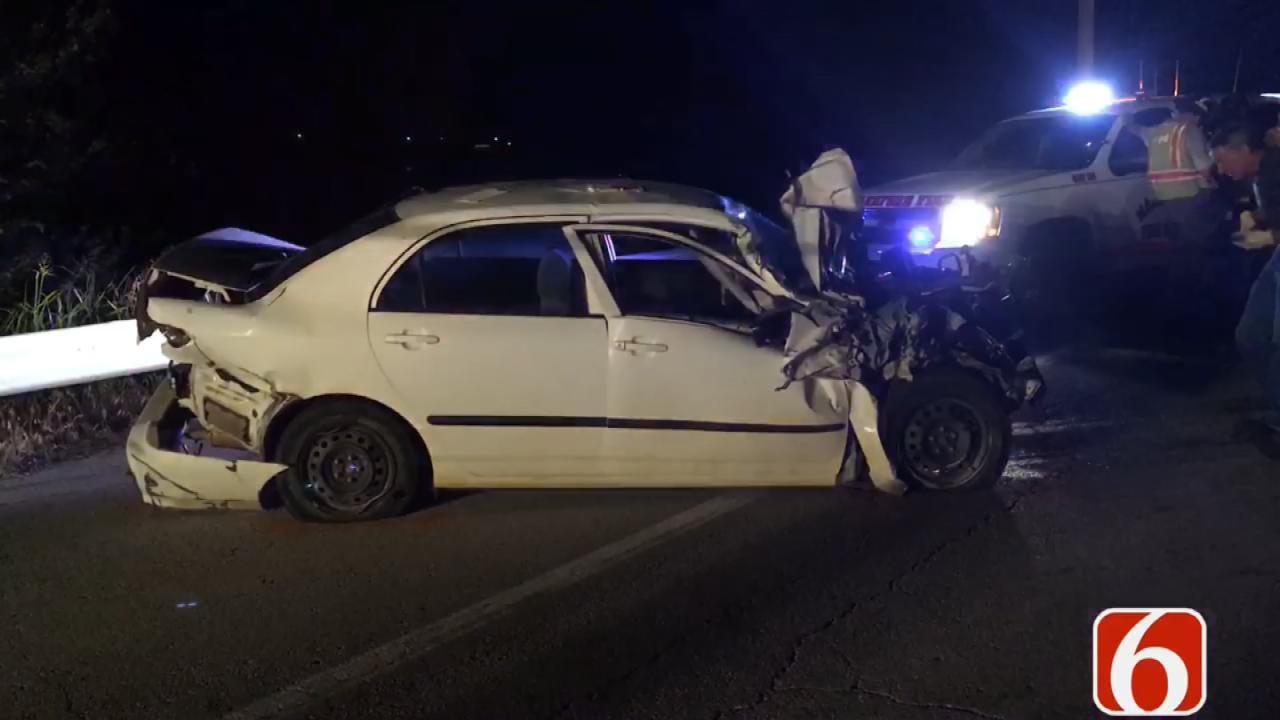 Three People Injured In Crash Near Mannford