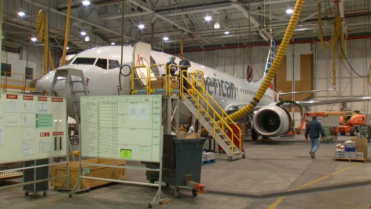 Brazil Hangar Project Worries Tulsa American Airlines Employees