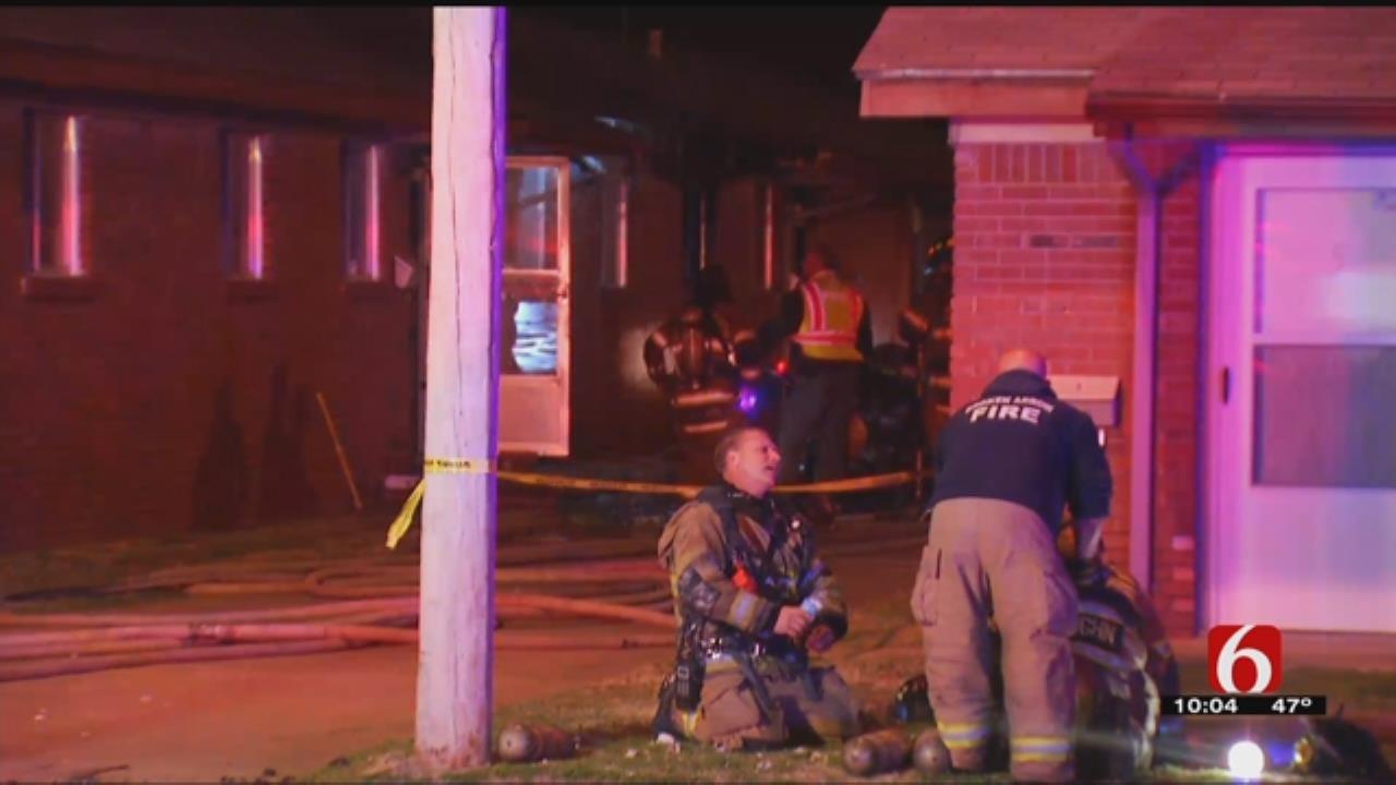 Resident Injured In Broken Arrow Apartment Fire