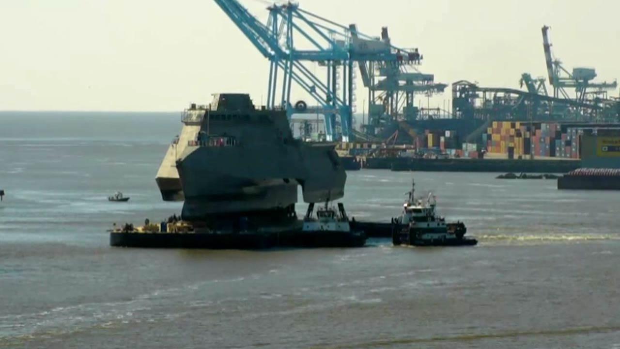 USS Tulsa Launched In Alabama Shipyard