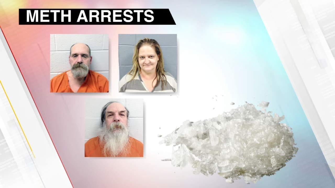 Rogers County THUG Task Force Arrests 3 On Drug Charges