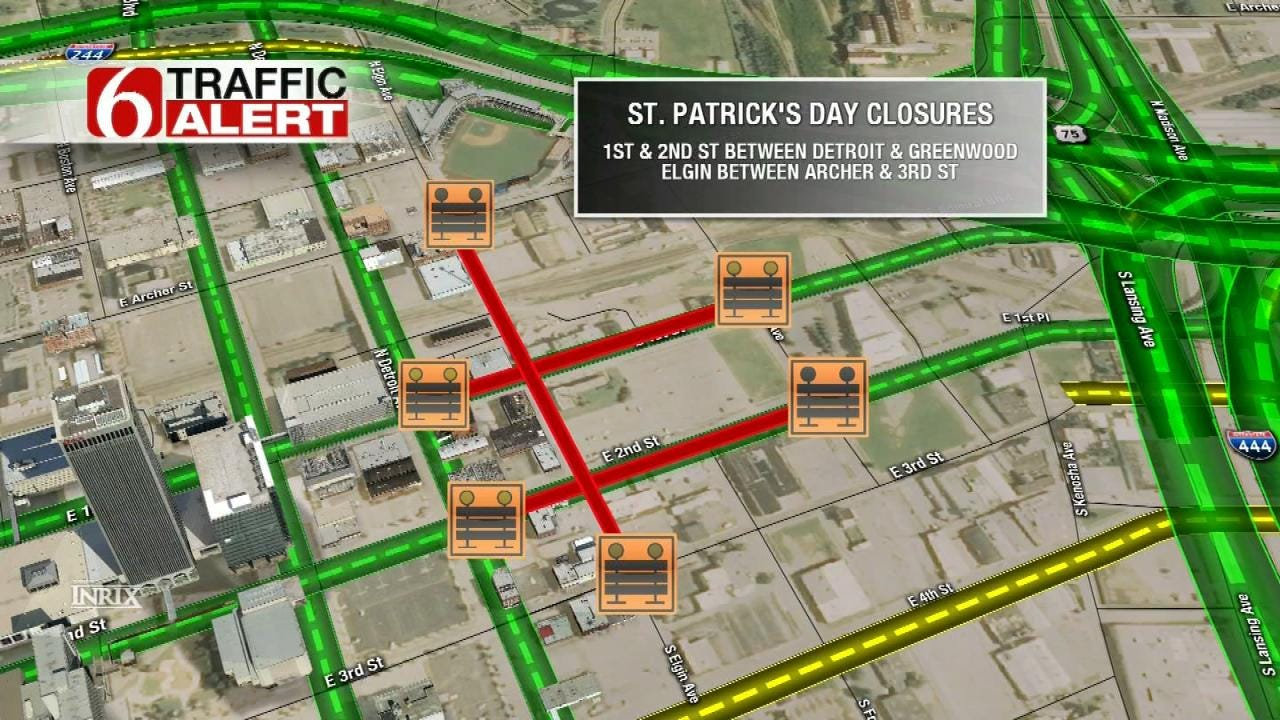 Special Events Close Downtown Tulsa Streets