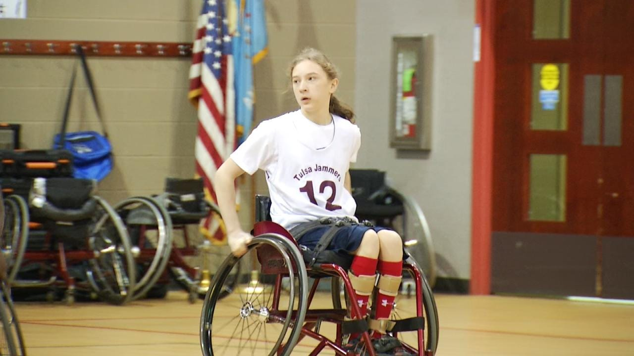 Tulsa Teen Uses Wheelchair Basketball To Overcome Physical Challenges