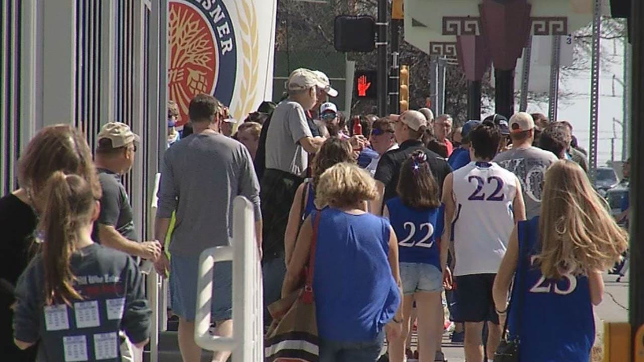 Tulsa Cashes In On March Madness Basketball Games