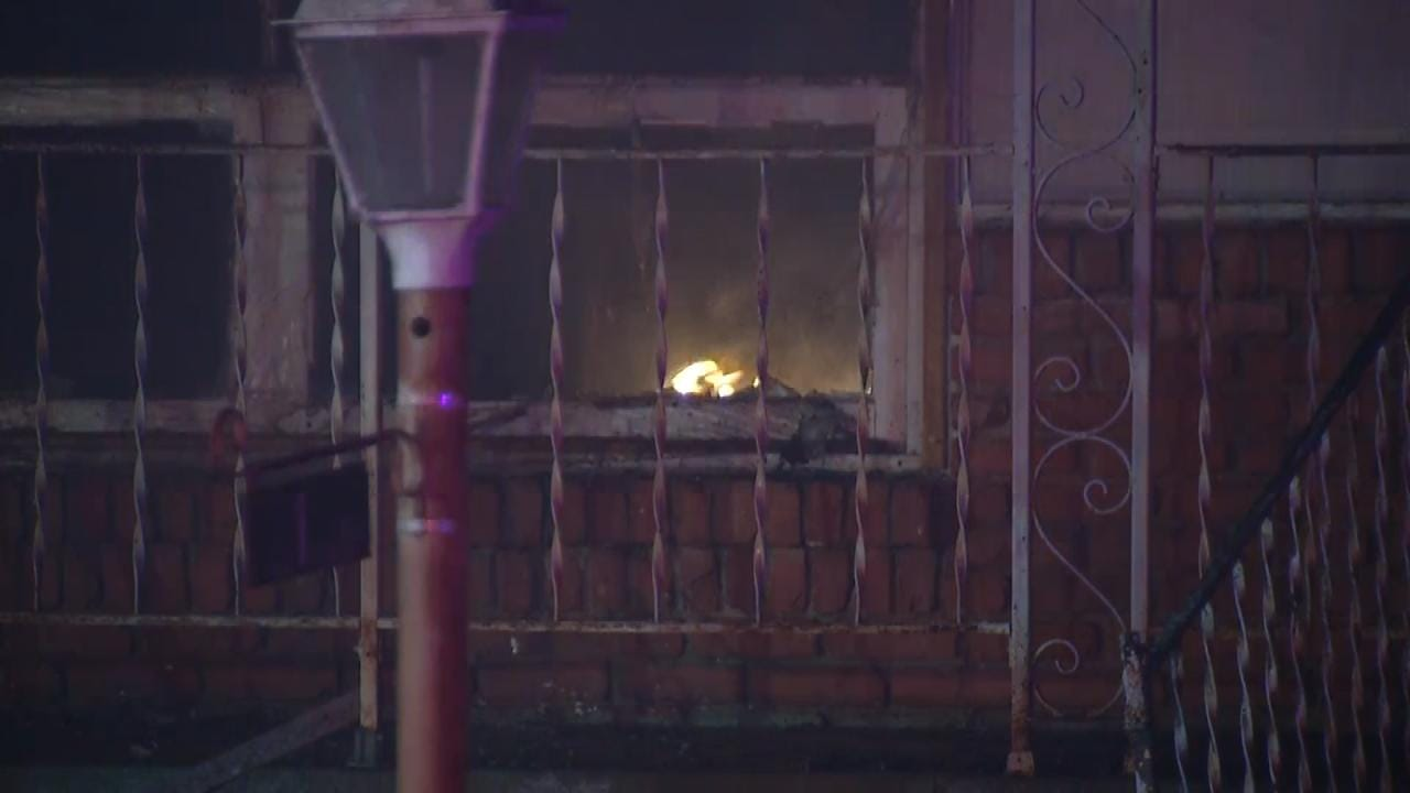 Tulsa Home Destroyed In Fire