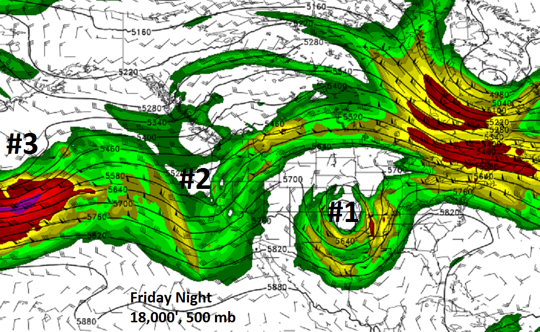 Cooler, Chance Rain. Storms Friday.
