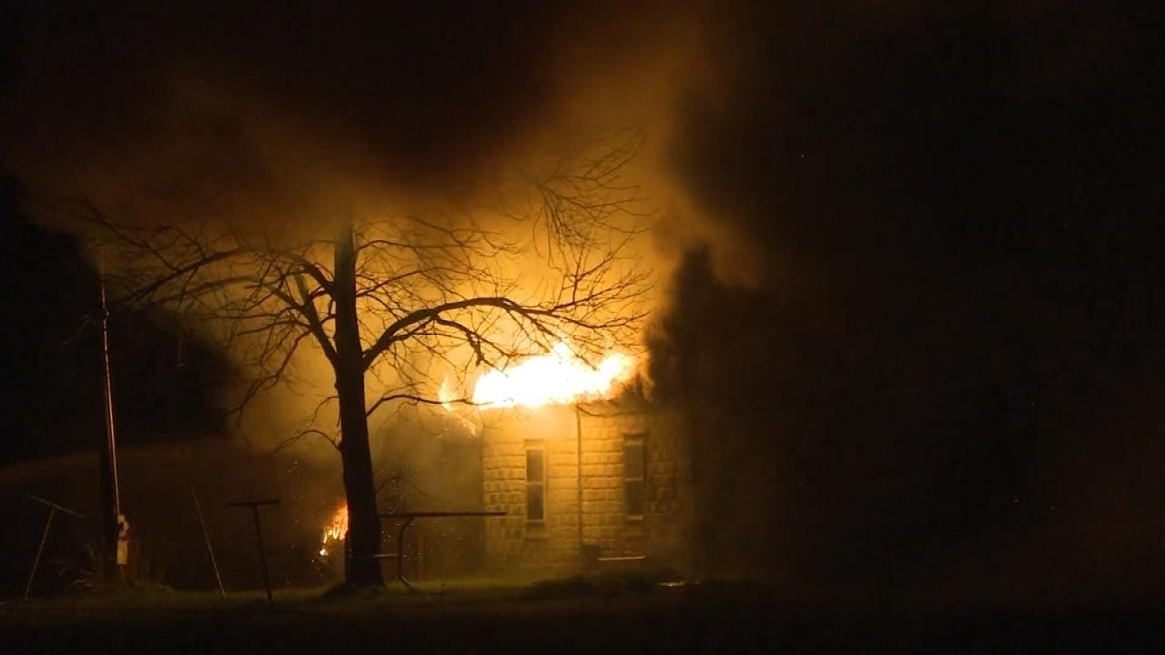 Keefton Home Destroyed By Fire