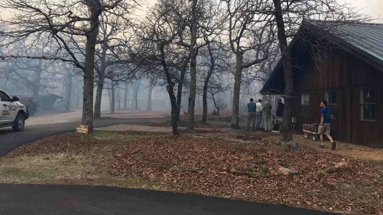 Washington County Wildfire Threatens Sutton Avian Research Center
