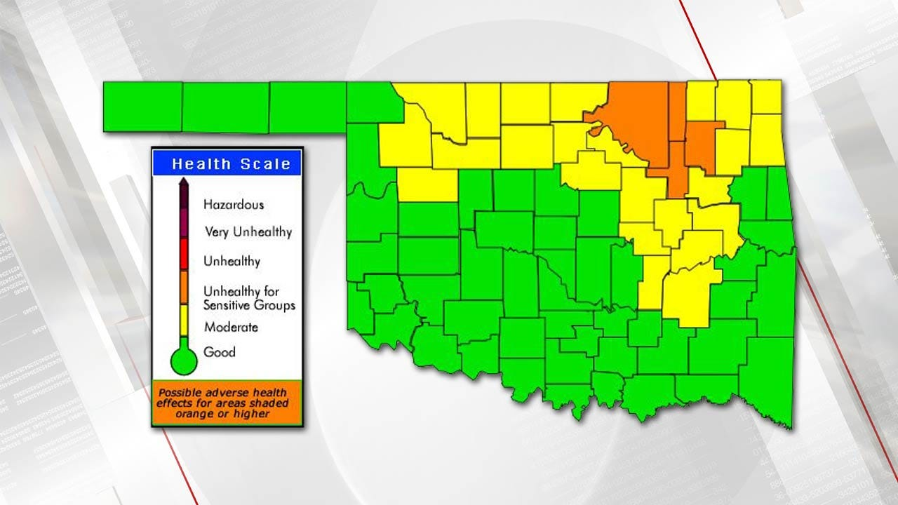 Wildfires Lead To Air Quality Advisory For Tulsa Area