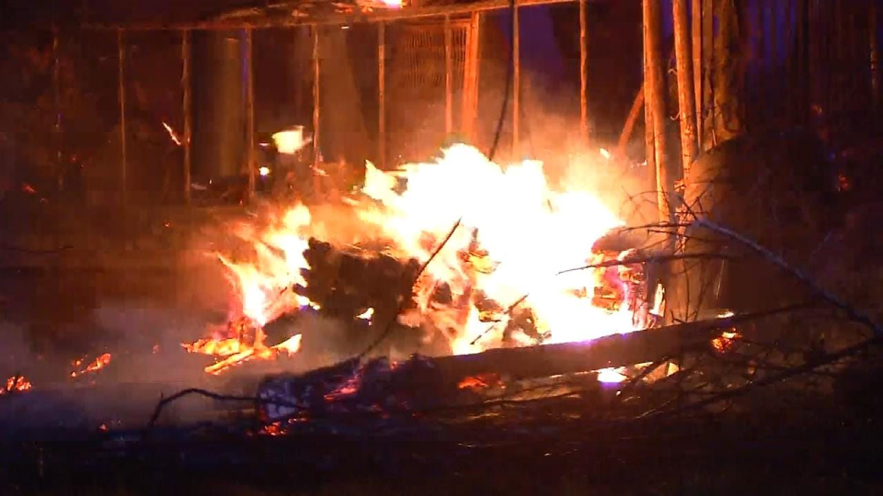 Coffee Pot May Have Sparked Berryhill House Fire