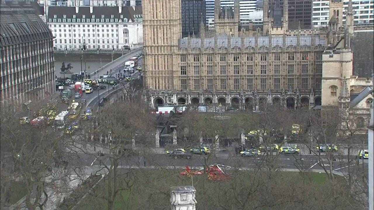 Four Dead In Car Rampage, Knife Attack In London