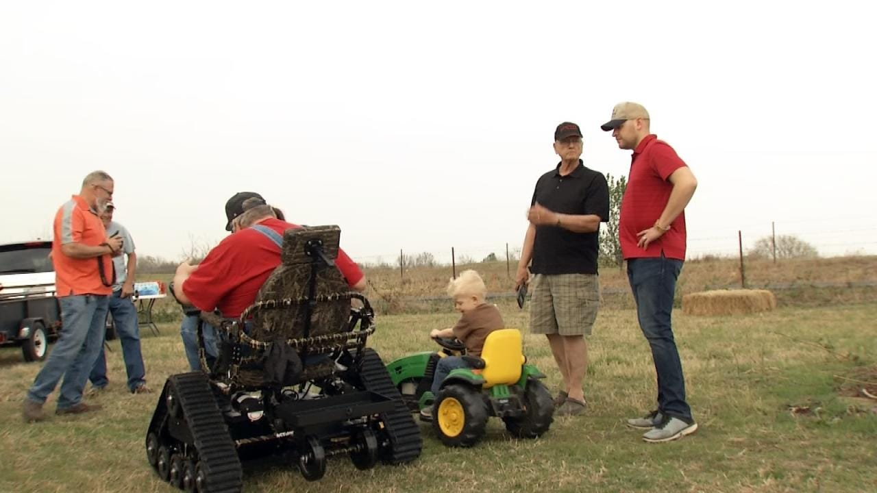 Owasso Man Receives 'Gift Of Mobility' Thanks To Friends