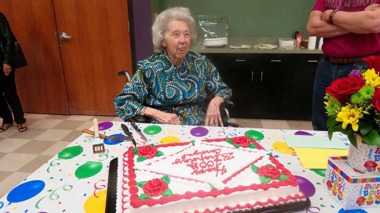 Tulsa Woman Celebrates 100th Birthday