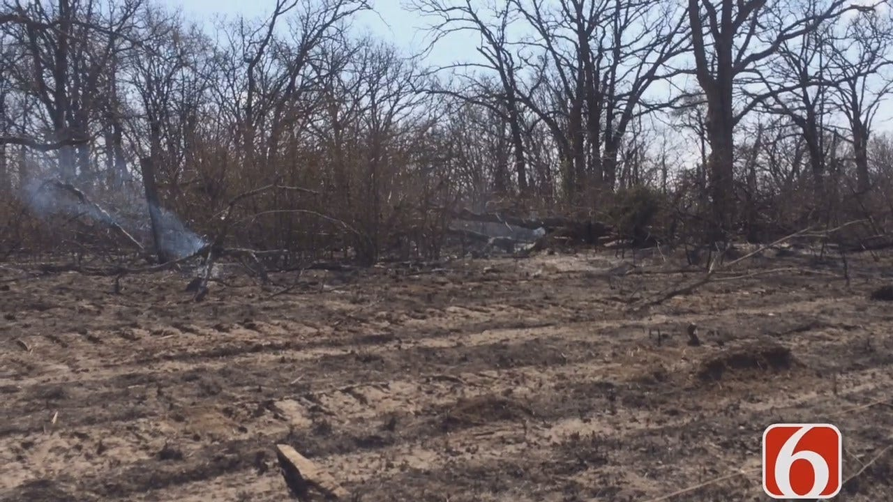 Mailbox Bombs Blamed For Beggs Wildfires