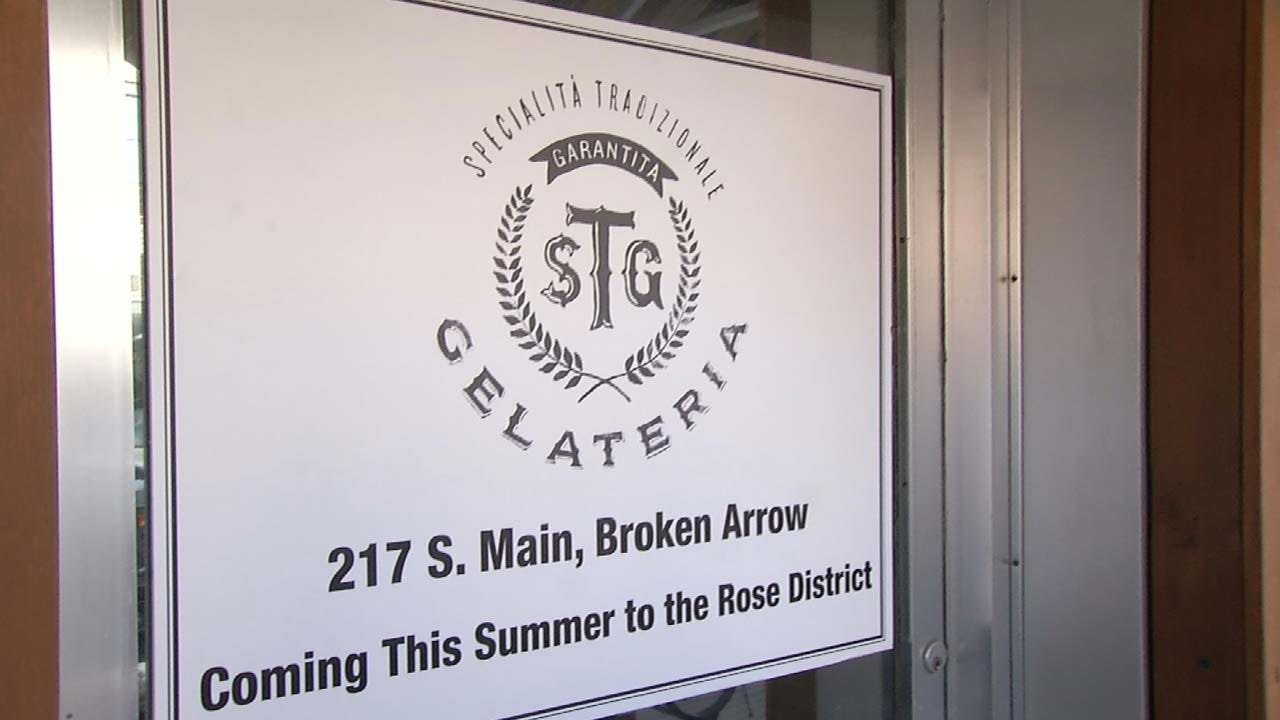 New Gelateria Coming To Broken Arrow's Rose District
