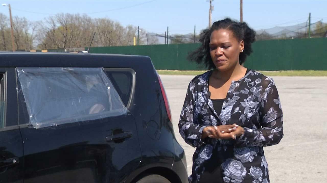 Oklahoma Beauty Queen's Car Broken Into While Tending To Ill Mother