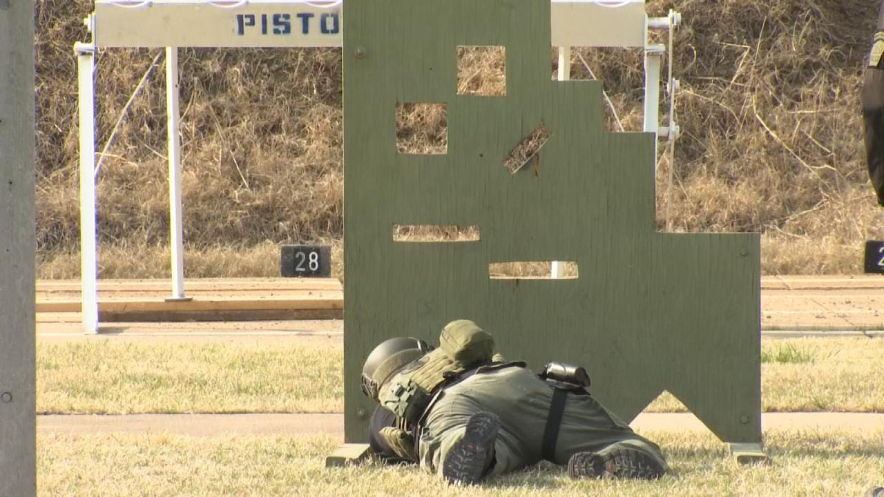 Oklahoma Police Departments Hold SWAT Competition In Tulsa