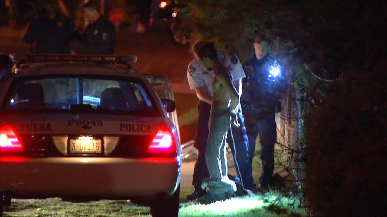 Police: Tulsa Man Used A Girl As Shield To Avoid Arrest