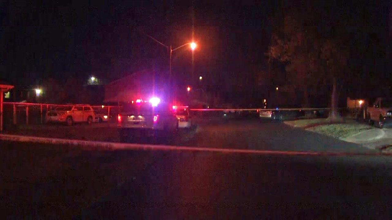 Two Shot At Memorial For Tulsa Murder Victim