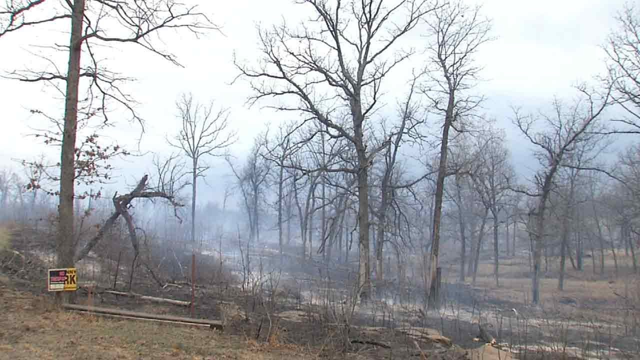 Firefighters: Mannford Wildfire 'Fairly Contained'