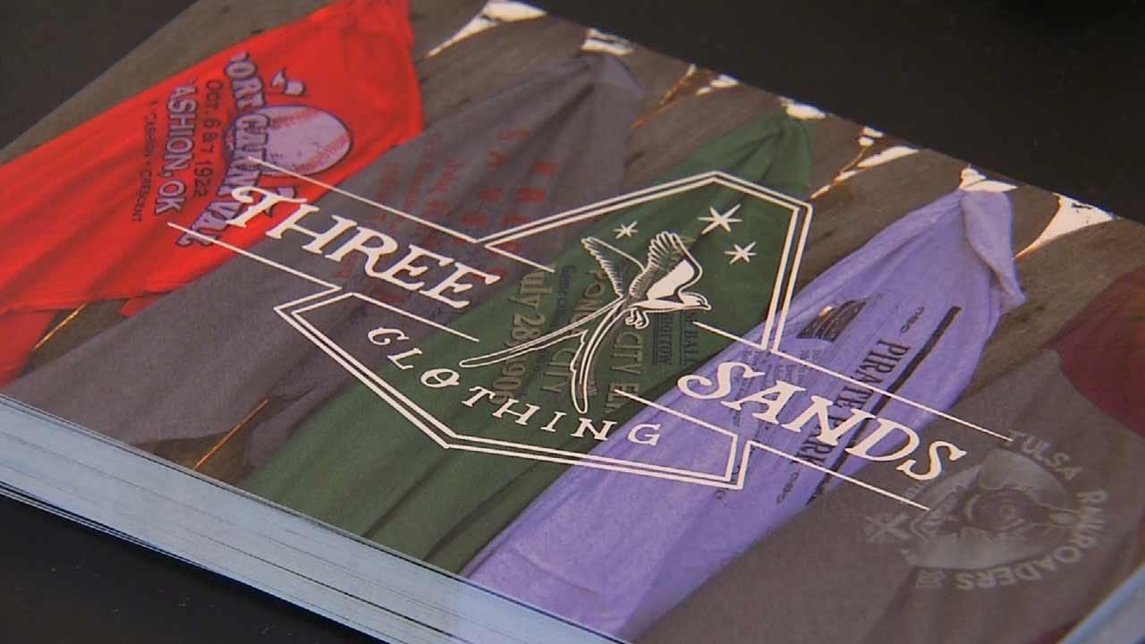 Tulsa Man's Clothing Company Combines Oklahoma History, Baseball