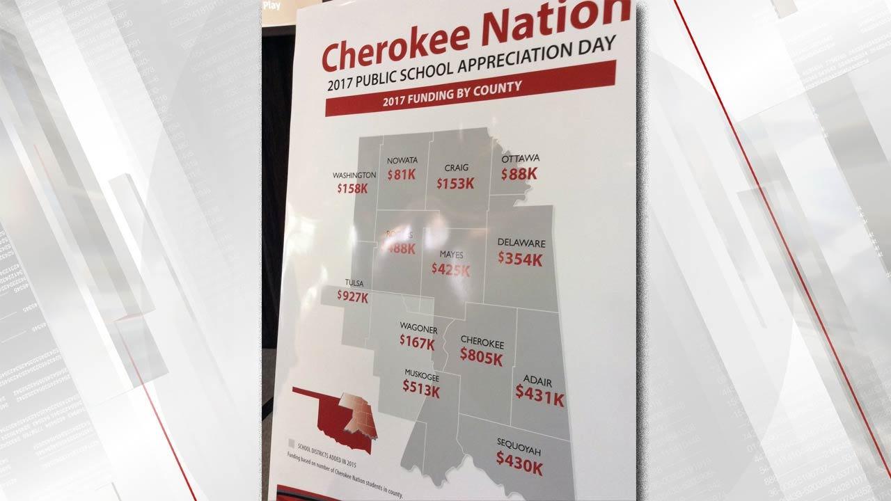 Cherokee Nation Awards $5M To Northeast Oklahoma Public Schools