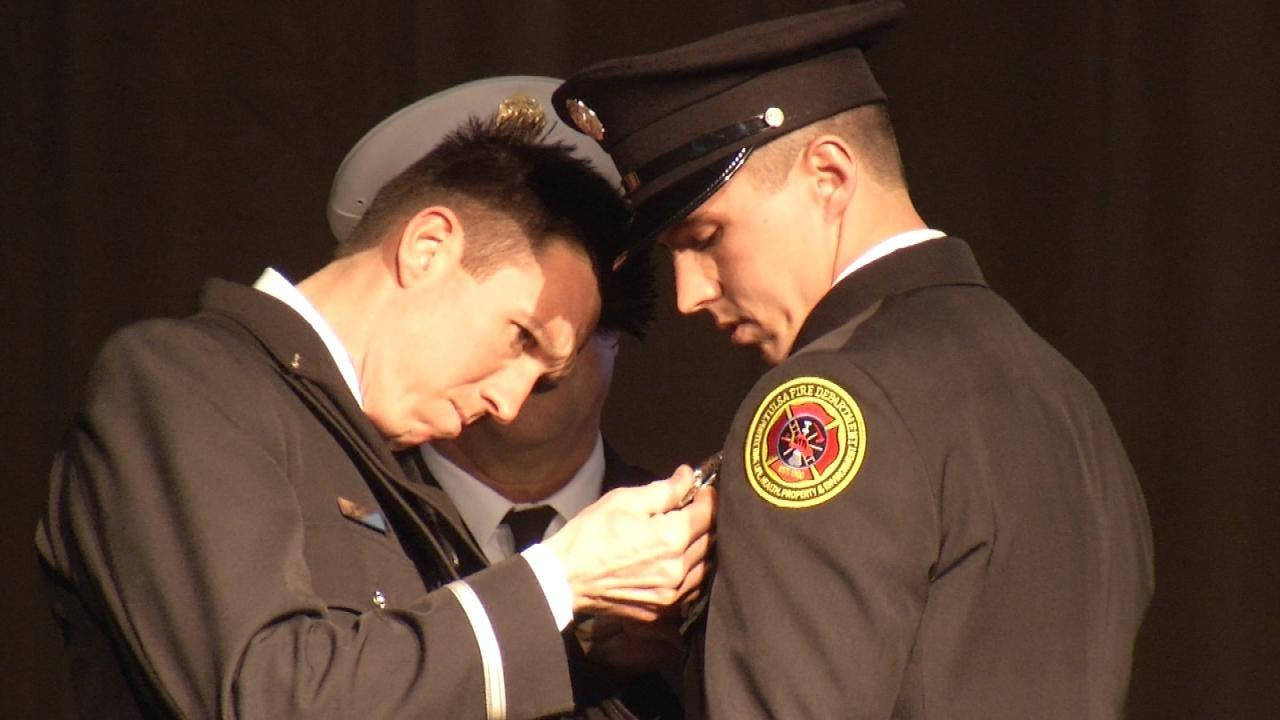 Tulsa Has 27 New Firefighters, Following Graduation Ceremony