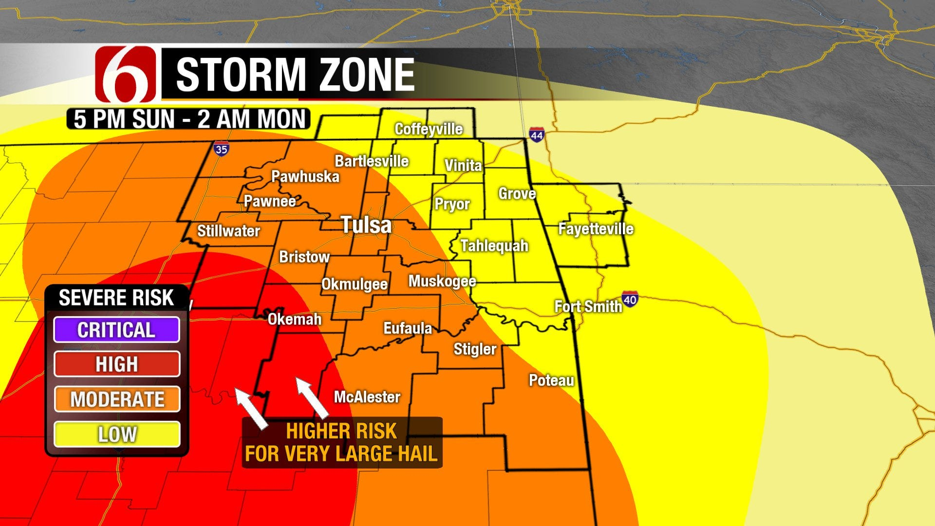 Severe Weather Sunday with Continued Threat Later This Week
