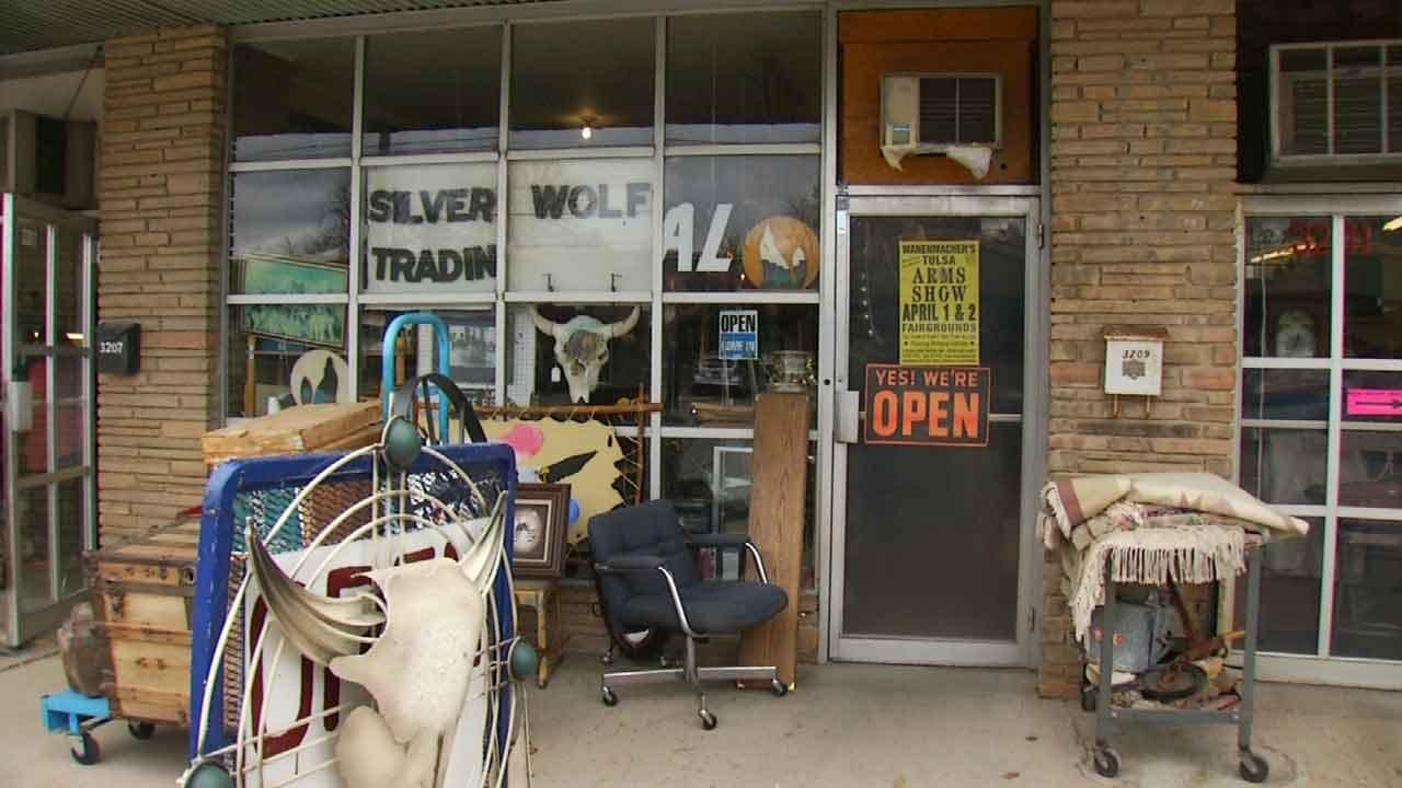 Tulsa Business Hit By Burglars Twice