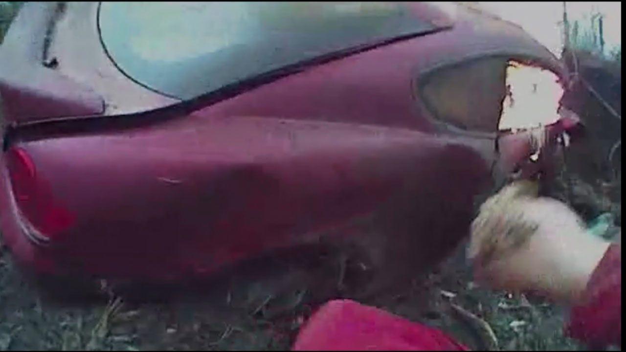 Bodycam Footage Shows Washington Co. Deputy Rescue Car Crash Victim