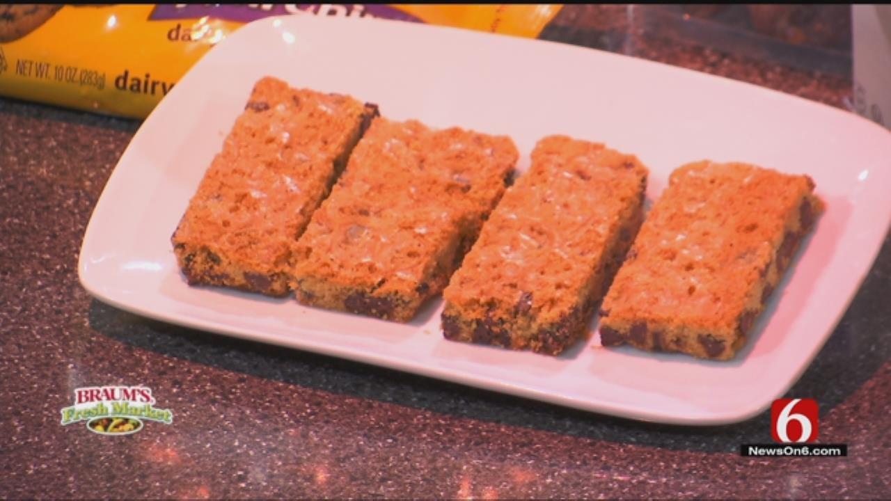 Gluten Free Chocolate Chip Bar Cookies