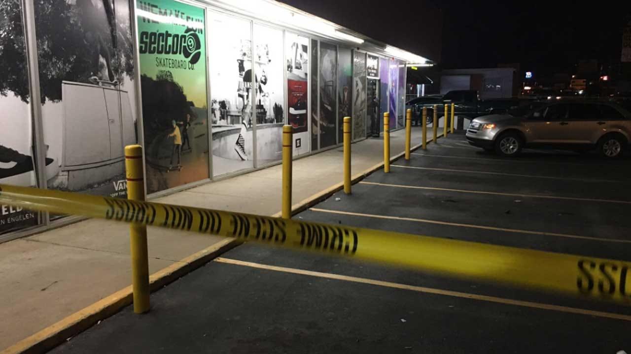 Man Shot Outside Tulsa Skate Shop