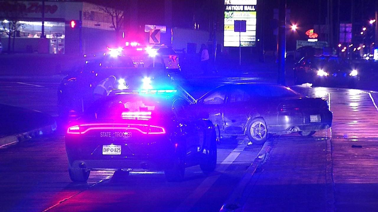 Tulsa Driver Suspected Of DUI Causes Crash After Driving Wrong Way