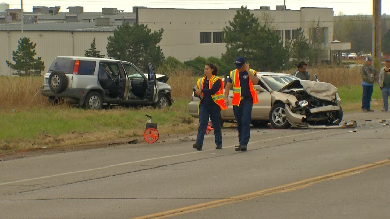 Contractor For Tulsa-Based Company Killed In Tulsa County Crash