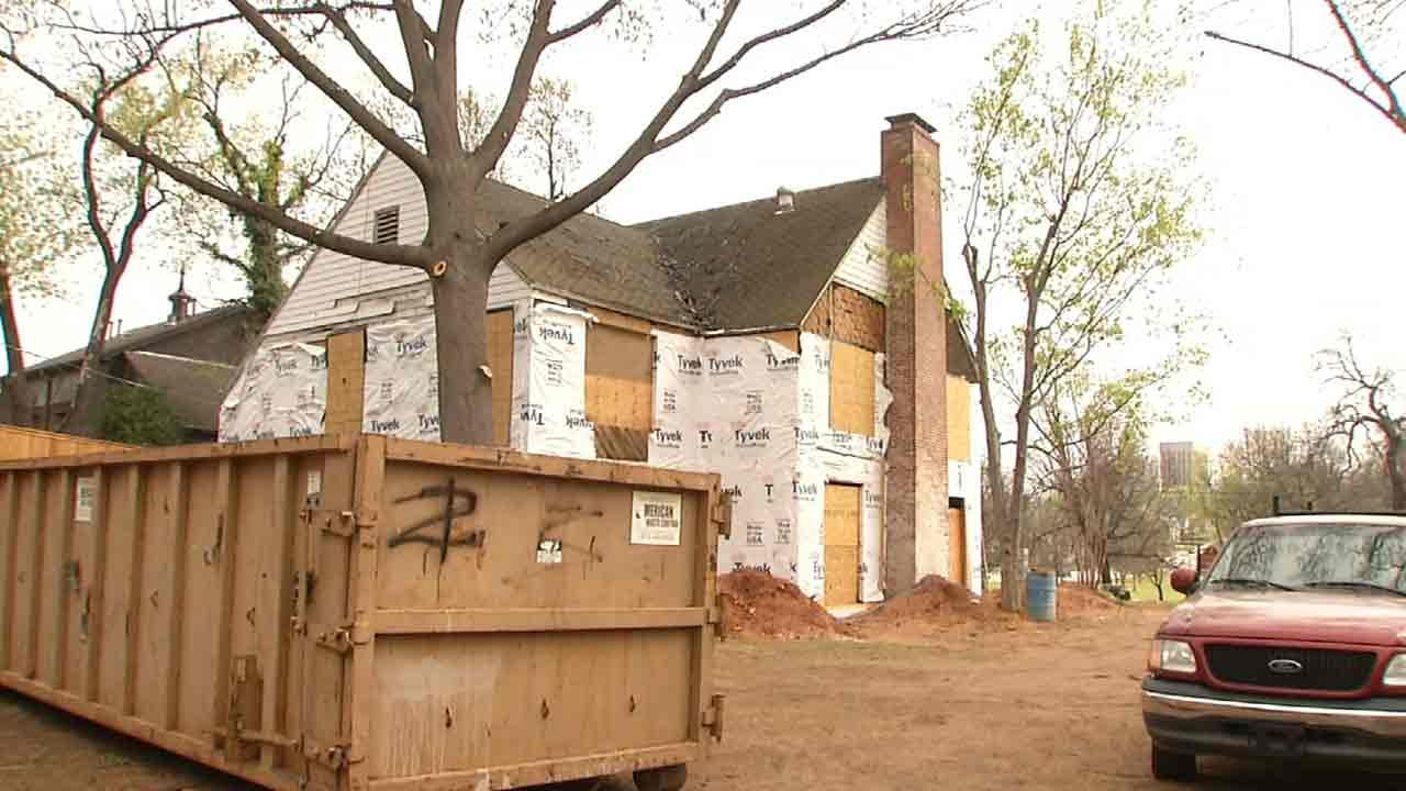 Historic Tulsa Home Rescued From Demolition List Being Restored